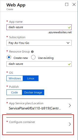Jamie Phillips - Deploying Dash to Azure App Service